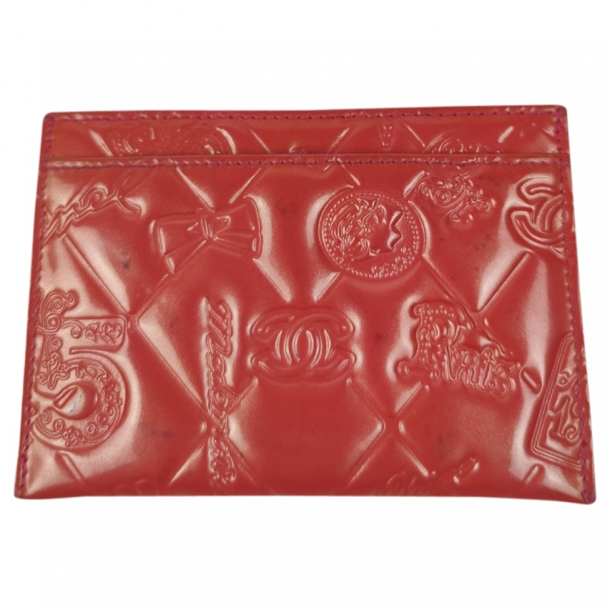 Chanel \N Red Patent leather Purses, wallet & cases for Women \N