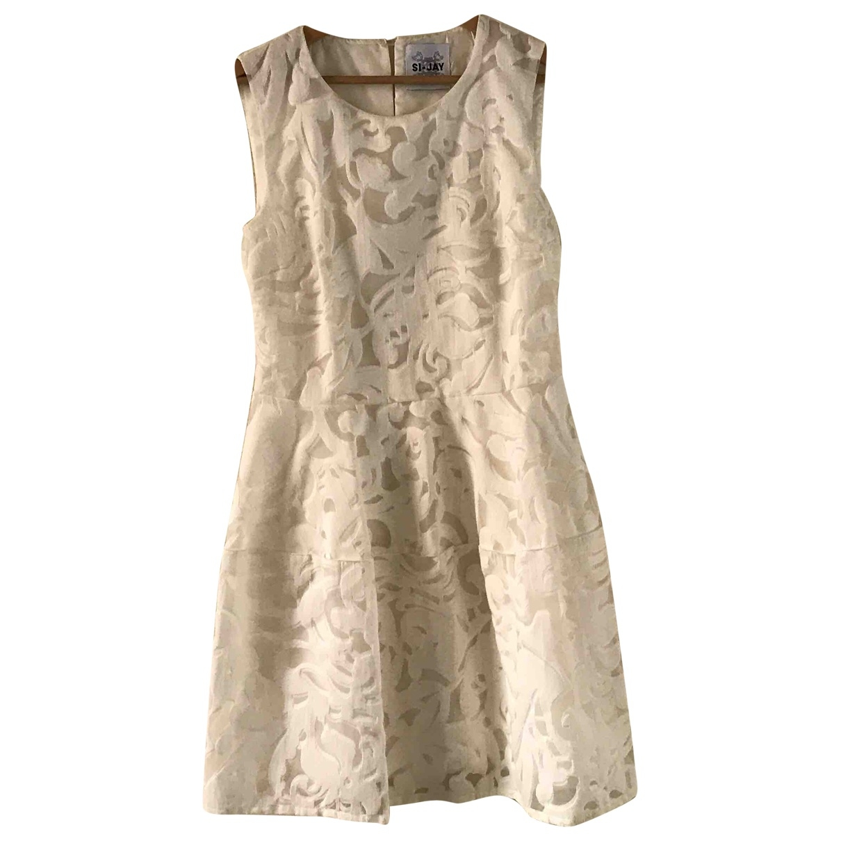 Si Jay \N White dress for Women 42 IT