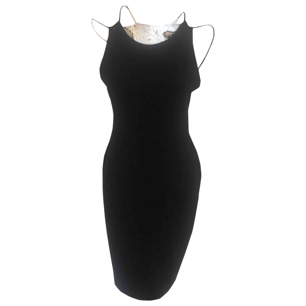 French Connection \N Black Cotton - elasthane dress for Women 12 UK