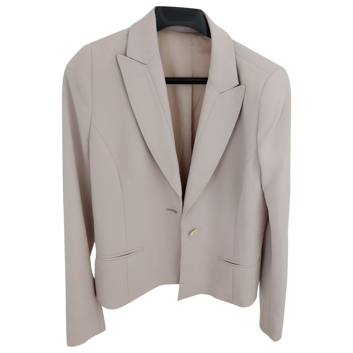 Non Signé / Unsigned \N Pink jacket for Women 44 IT