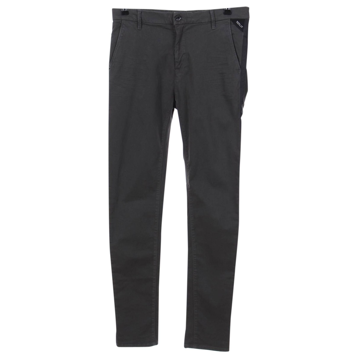 Replay \N Grey Cotton - elasthane Jeans for Men 32 US