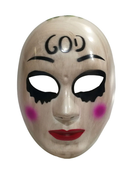 Milanoo Purge Anarchy Covering GOD Halloween Party Horror Masquerade Scary Costume Accessories