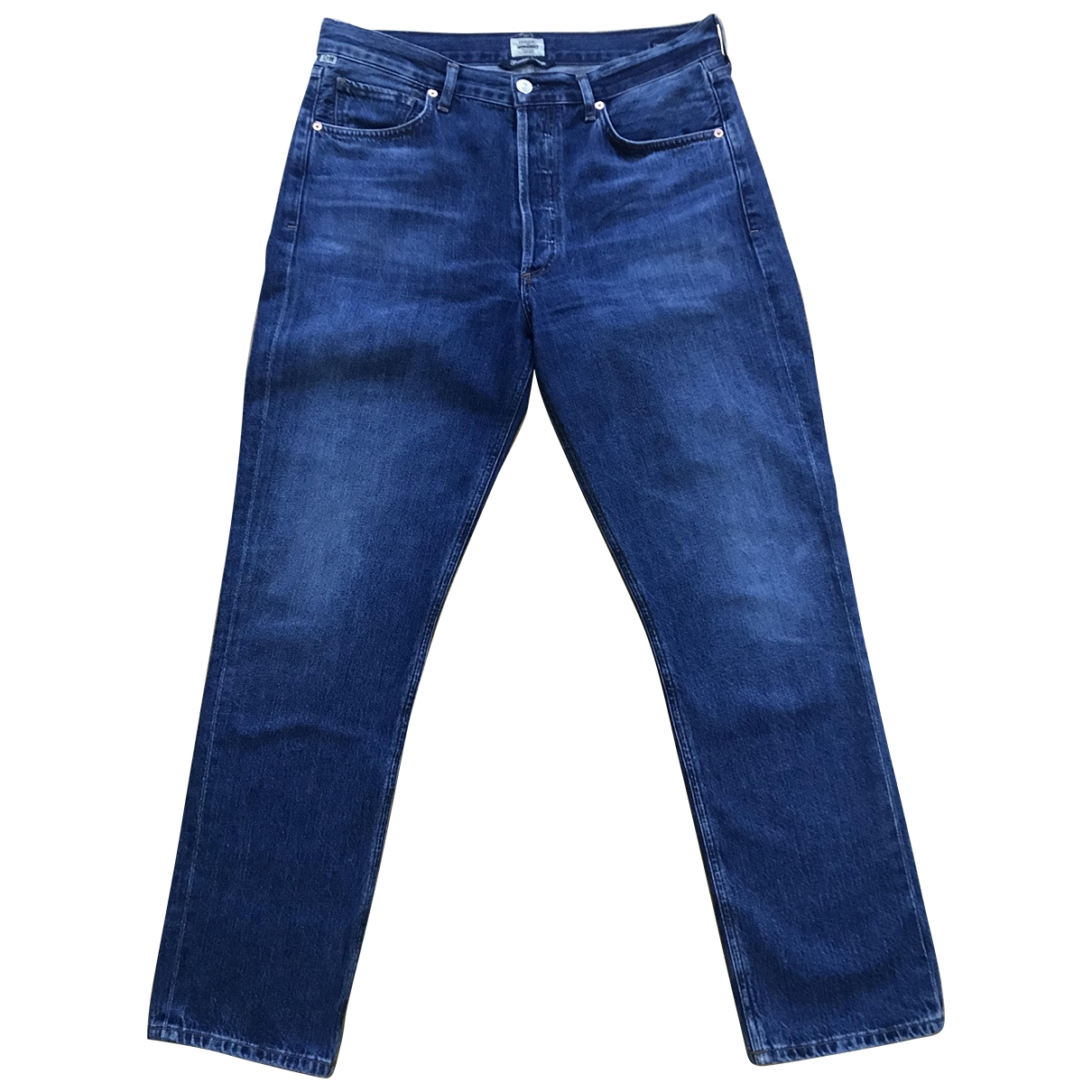 Citizens Of Humanity \N Blue Cotton Jeans for Women 29 US