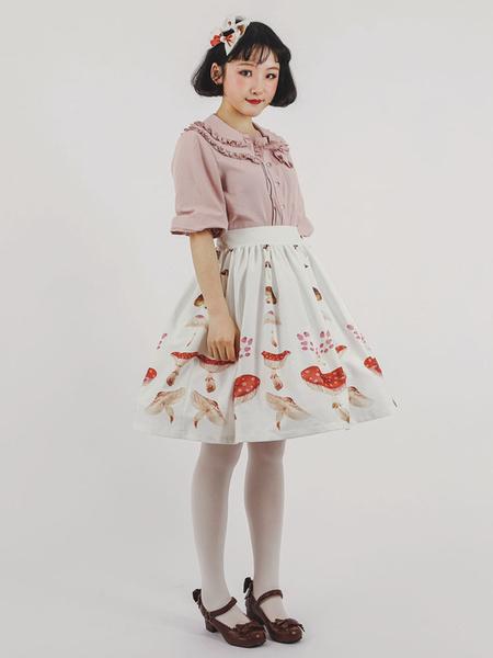 Milanoo Sweet Lolita Blouse Sweet Cake Kawaii Girl's Blouse