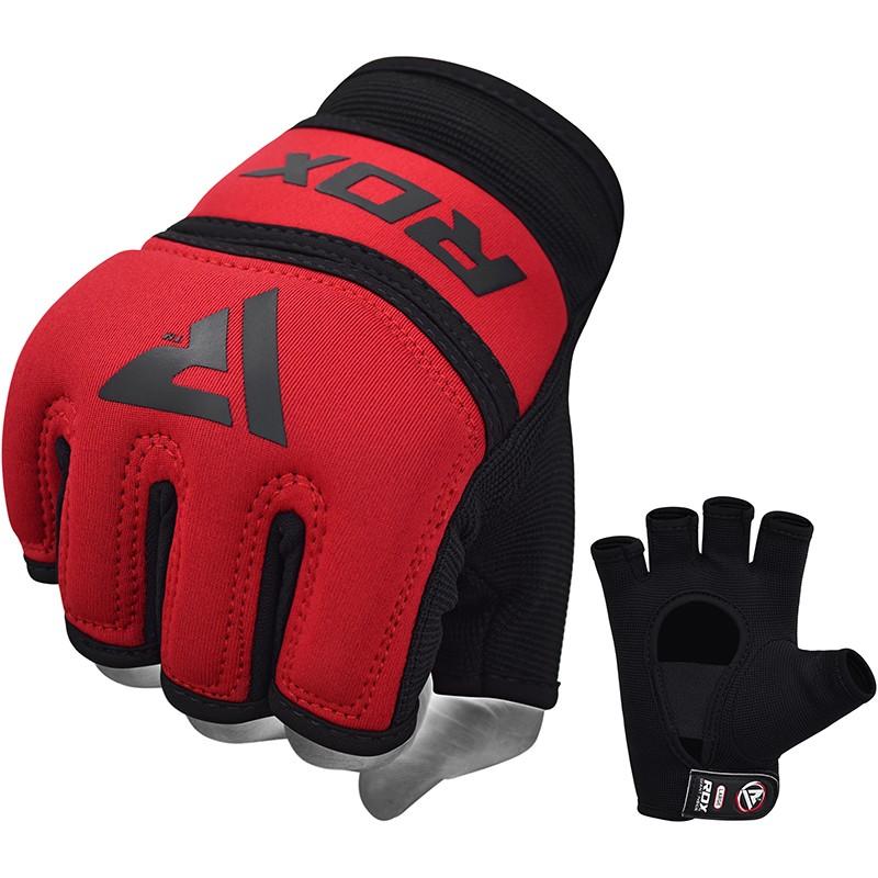 RDX X6 Inner Gloves Neoprene for Boxing or MMA Large Red