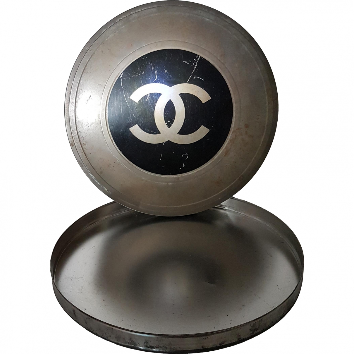 Chanel \N Grey Steel Home decor for Life & Living \N