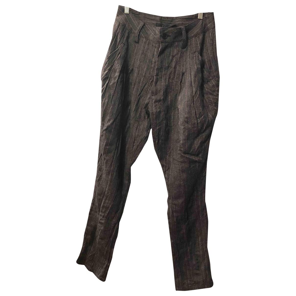 Limi Feu \N Wool Trousers for Women L International
