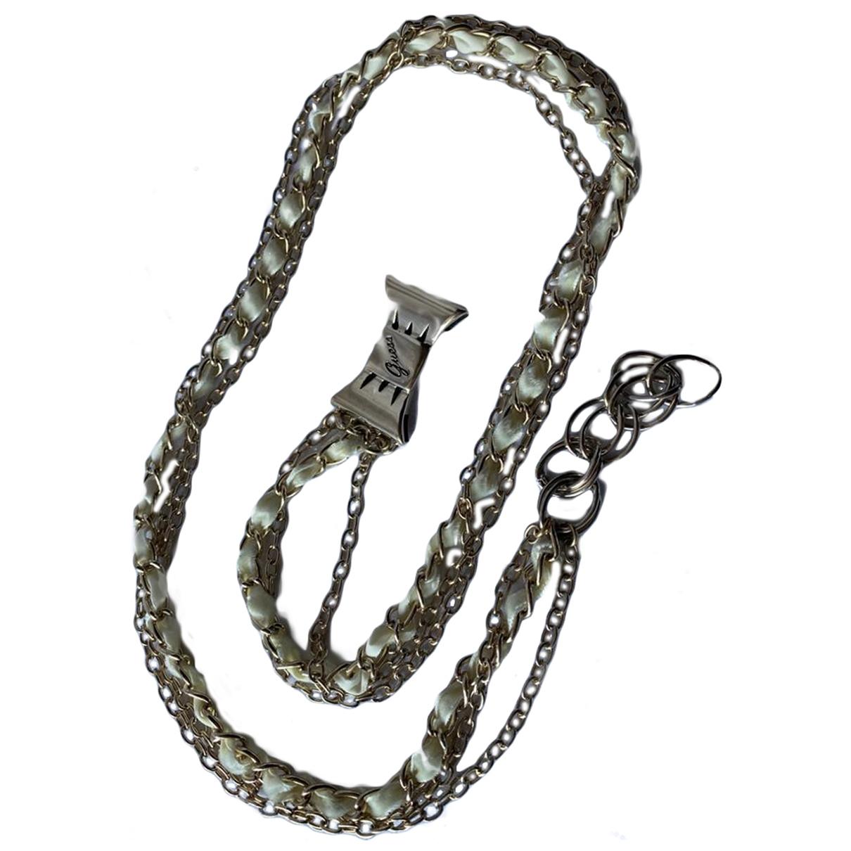 Guess \N Gold Chain belt for Women 95 cm