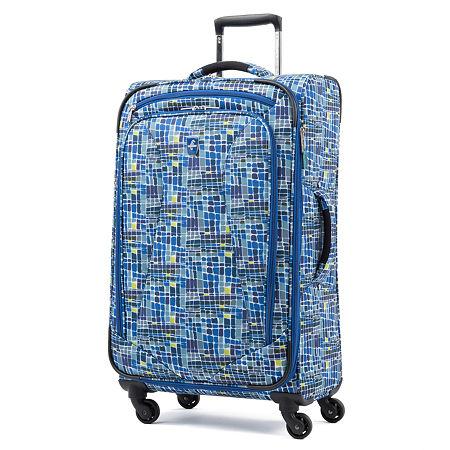 Atlantic Ultra Lite 25 Inch Lightweight Luggage, One Size , Blue