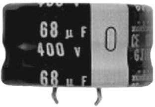 Nichicon 150μF Electrolytic Capacitor 200V dc, Through Hole - LGJ2D151MELA15