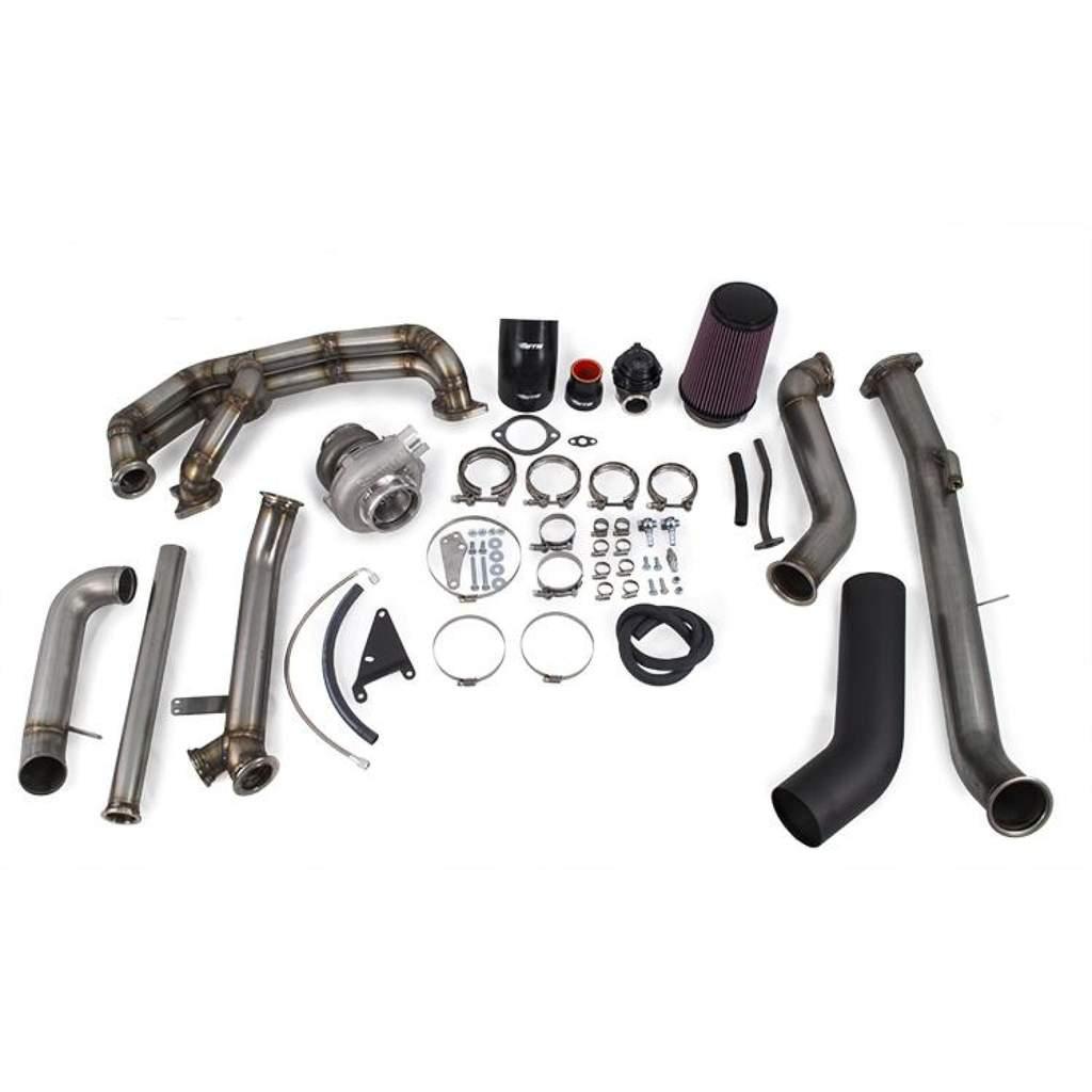 ETS 08-14 Subaru STI Turbo kit Standard Turbo Kit Stock MAF 2 Bolt Up-Pipe Connection PT5858 BB