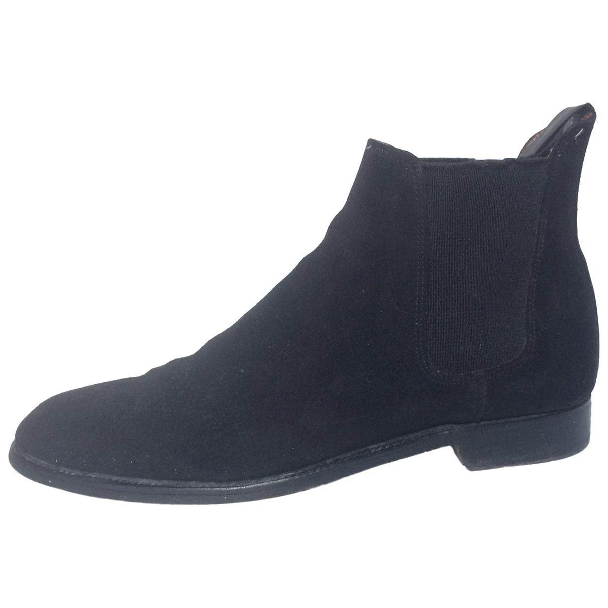 Carvil \N Black Velvet Boots for Men 6.5 UK