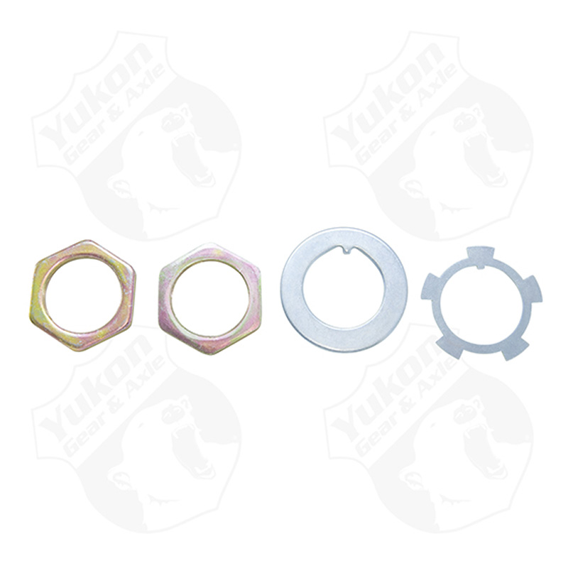 Spindle Nut Kit Toyota Front Yukon Gear & Axle YSPSP-040