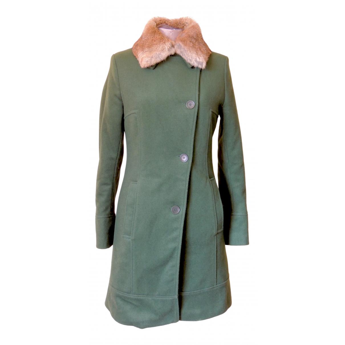 Jean Paul Gaultier \N Green Rabbit coat for Women 42 IT