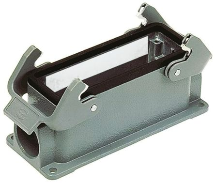 HARTING Han Hv E Series Heavy Duty Power Connector Housing, Surface Mount