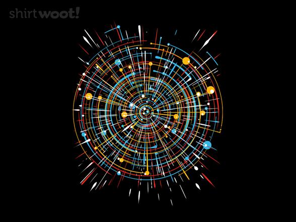 Universe Expansion T Shirt