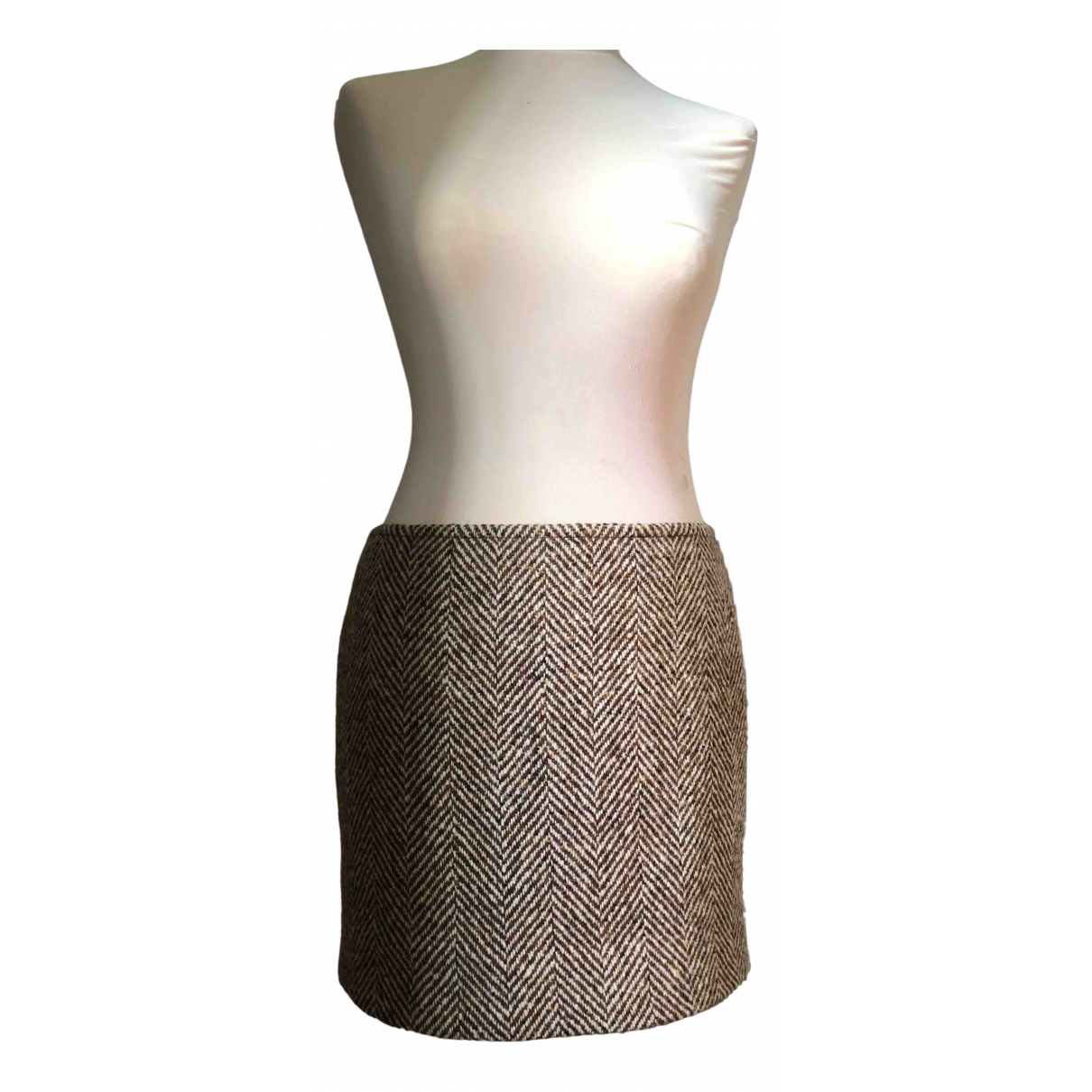 Sport Max \N Multicolour Wool skirt for Women 10 UK