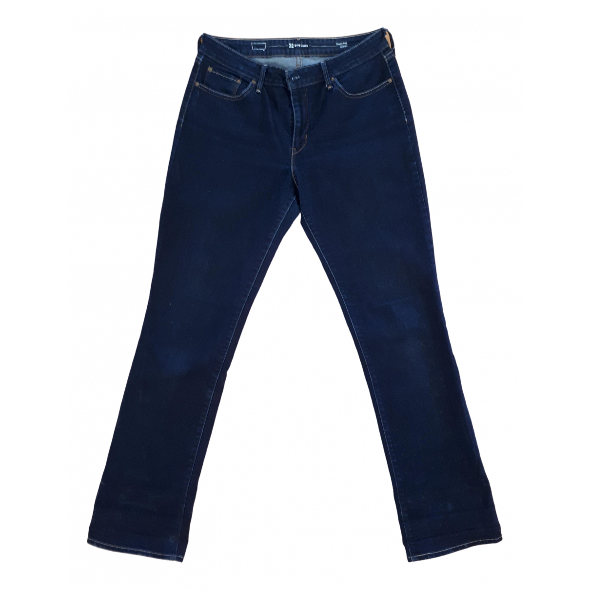 Levi's \N Blue Cotton - elasthane Jeans for Women 32 US