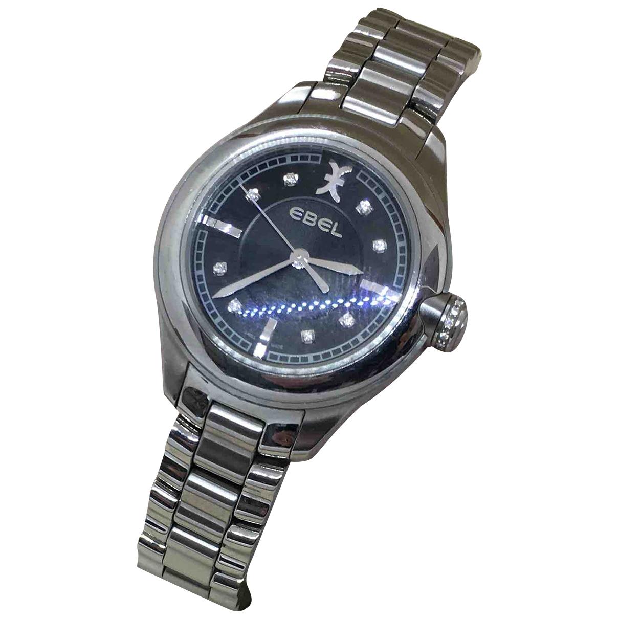 Ebel \N Silver Steel watch for Women \N