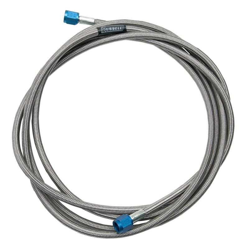 Russell NITROUS HOSE #3 AN 3 FT BLUE