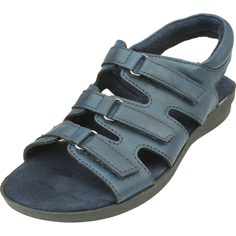 Easy Street Women's Rae Navy Ankle-High Sandal - 6N