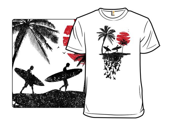 Surf Sharks T Shirt