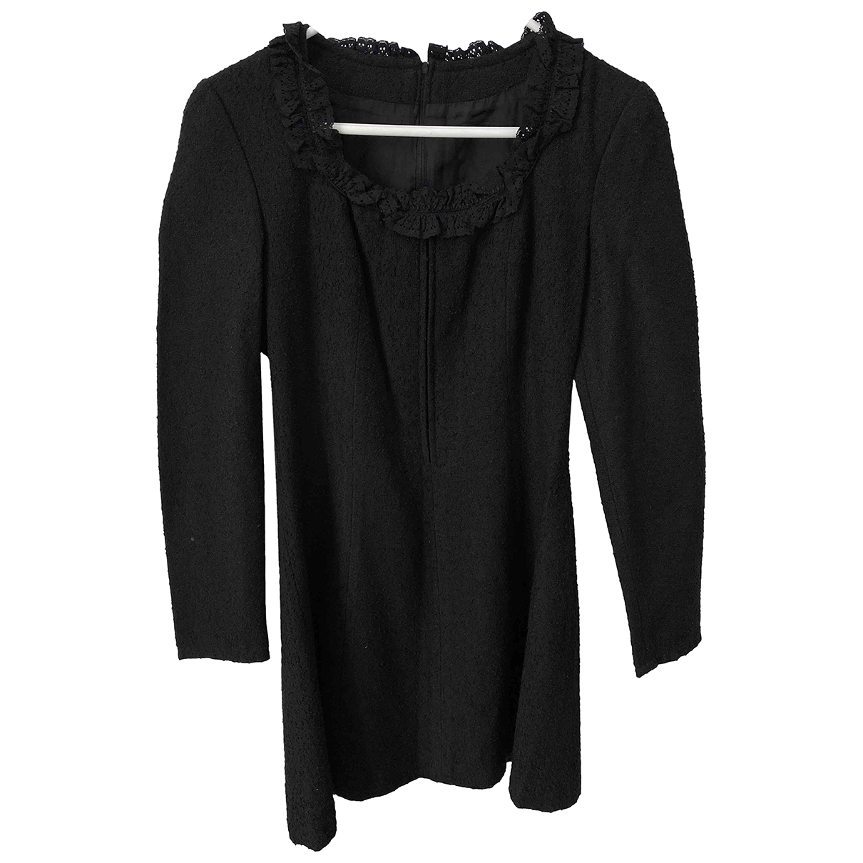 Non Signé / Unsigned \N Black Cotton dress for Women 34 FR