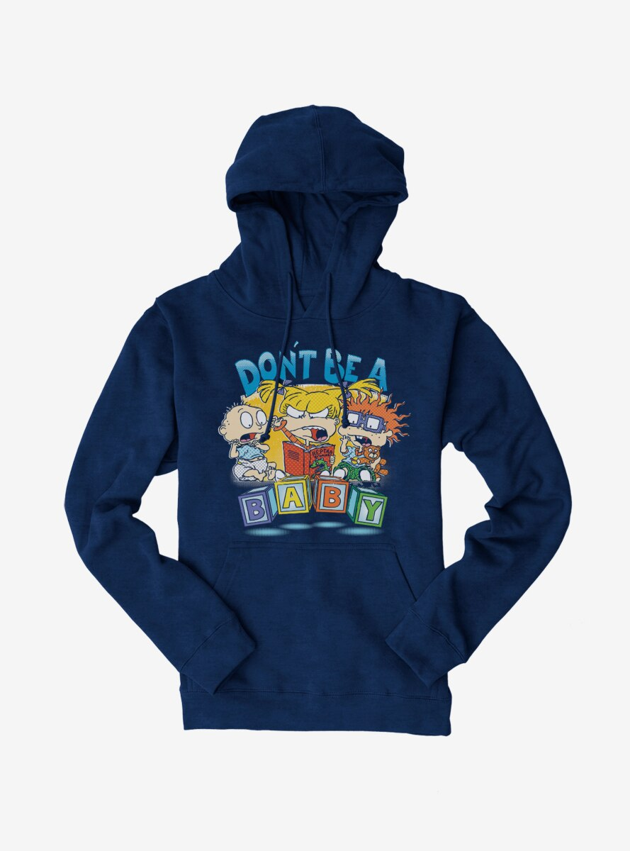 Rugrats Angry Angelica With Tommy And Chuckie Hoodie