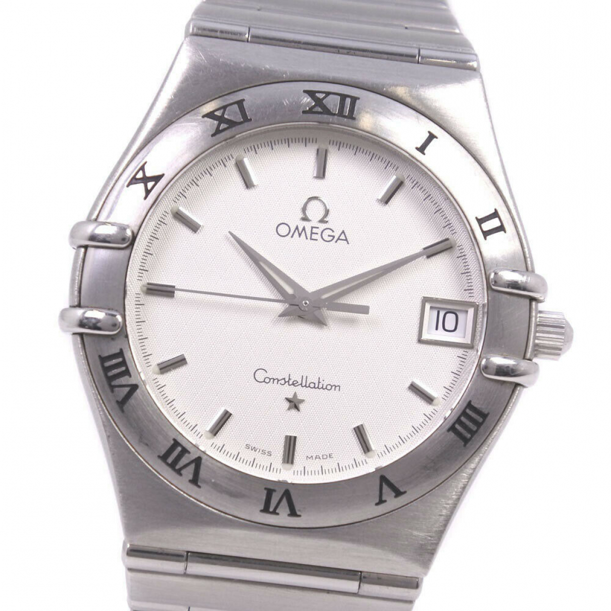 Omega Constellation Silver Steel watch for Women \N