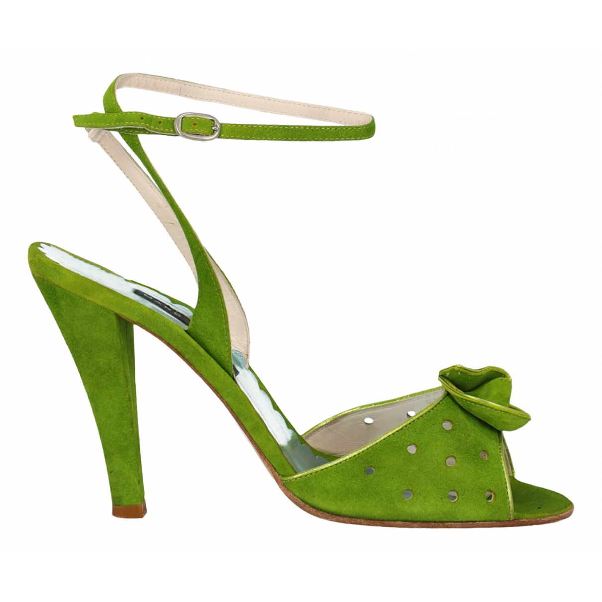 Marc Jacobs \N Green Suede Sandals for Women 39 IT