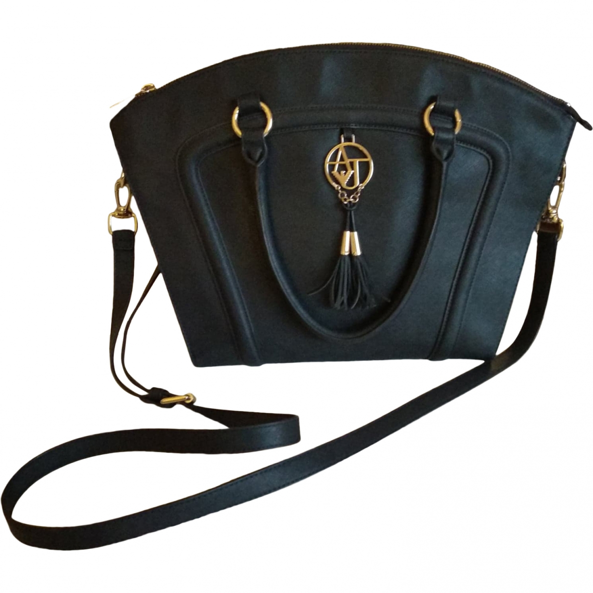 Armani Jeans \N Blue handbag for Women \N