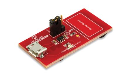 Microchip AC160219, AT42QT1010 Evaluation Kit Evaluation Kit for AC160219