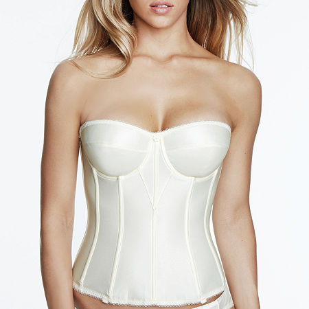 Dominique Juliet Underwire Bustier-8950, B , Beige