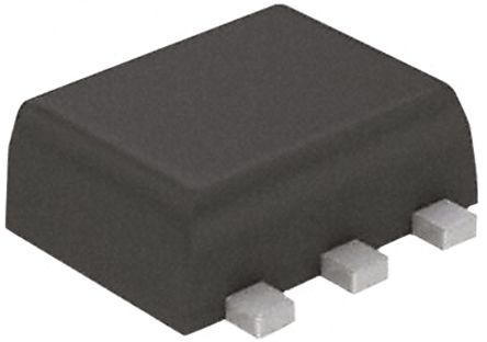 DiodesZetex Dual N-Channel MOSFET, 1.38 A, 20 V, 6-Pin SOT-563 Diodes Inc DMG1024UV-7 (50)