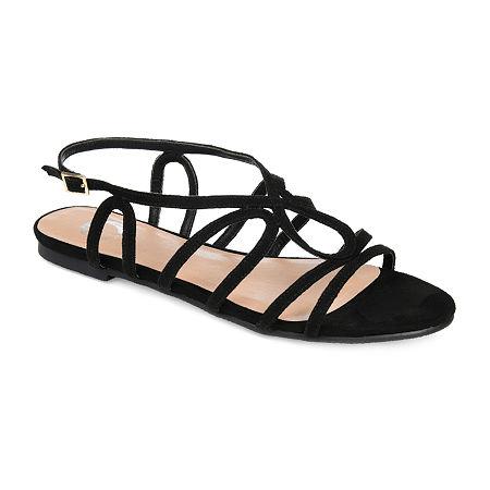 Journee Collection Womens Honey Pumps Block Heel, 7 1/2 Medium, Black