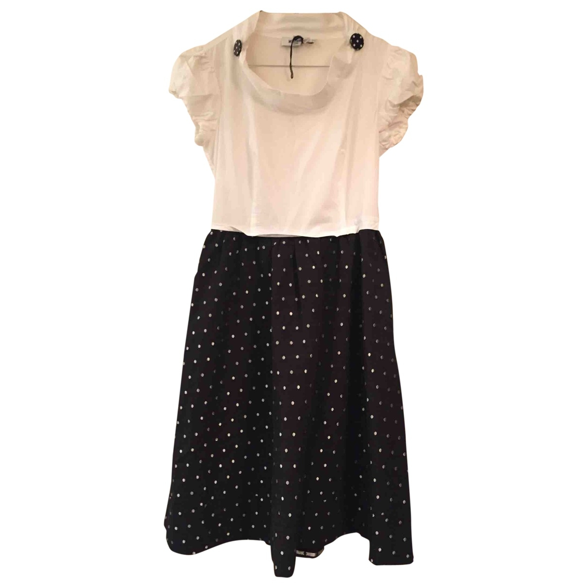 Moschino \N Black Cotton dress for Women 38 IT