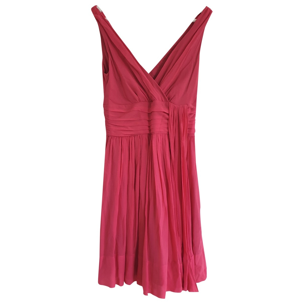 Temperley London \N Pink Silk dress for Women 8 UK