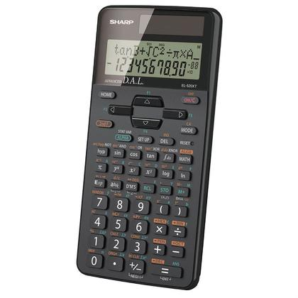 Sharp@ EL520XTBBK 10-digit Scientific Calculators