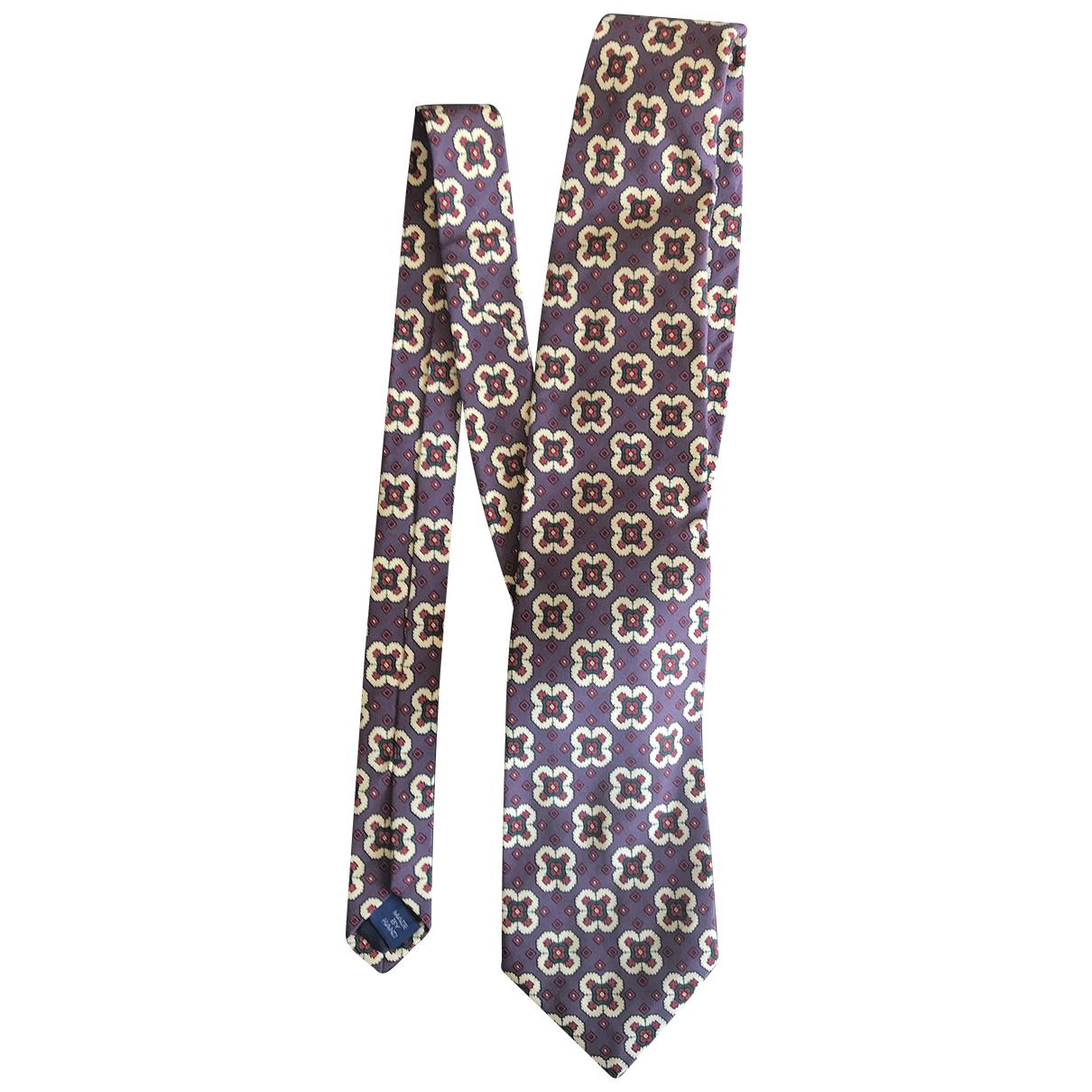 Polo Ralph Lauren \N Purple Silk Ties for Men \N