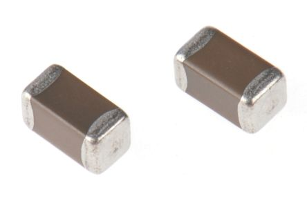 Murata , 1206 (3216M) 10μF Multilayer Ceramic Capacitor MLCC 10V dc ±10% , SMD GCJ31CR71A106KA13L (10)