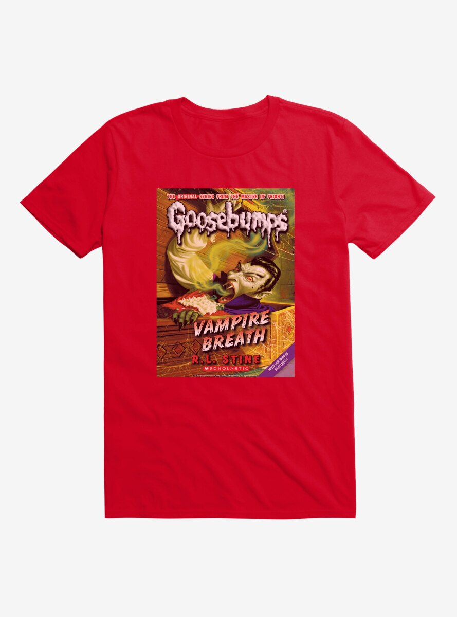 Goosebumps Vampire Breath Book T-Shirt