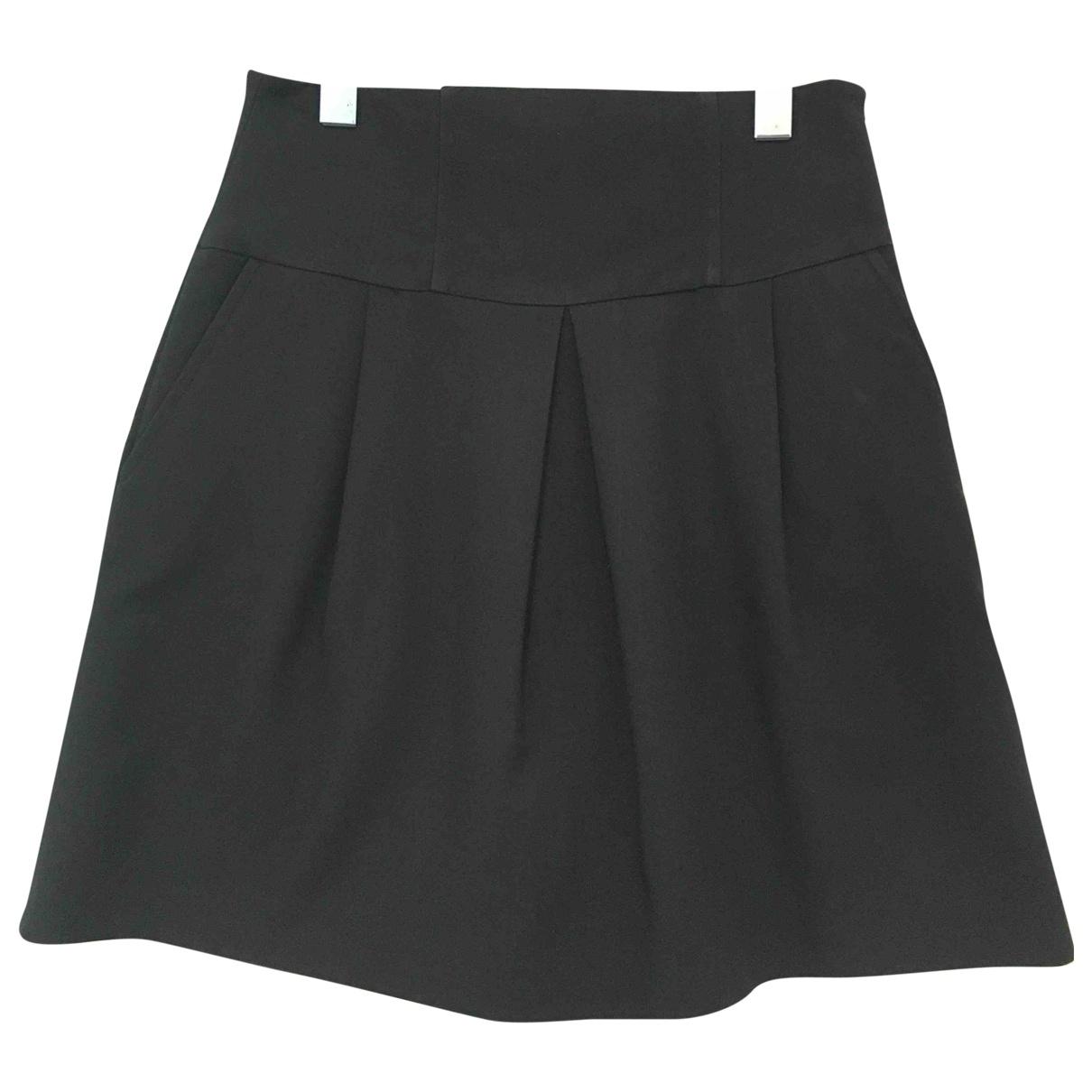 Zara \N Black Cotton skirt for Women 8 UK