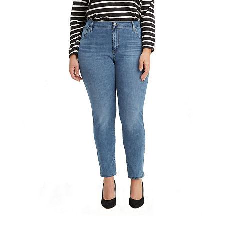 Levi's 721 High-Rise Skinny Jean - Plus, 20w , Blue