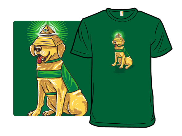 All Seeing Eye Dog T Shirt
