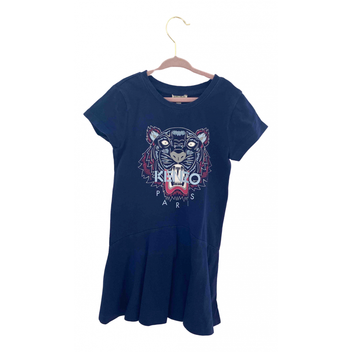 Kenzo \N Blue Cotton dress for Kids 6 years - up to 114cm FR