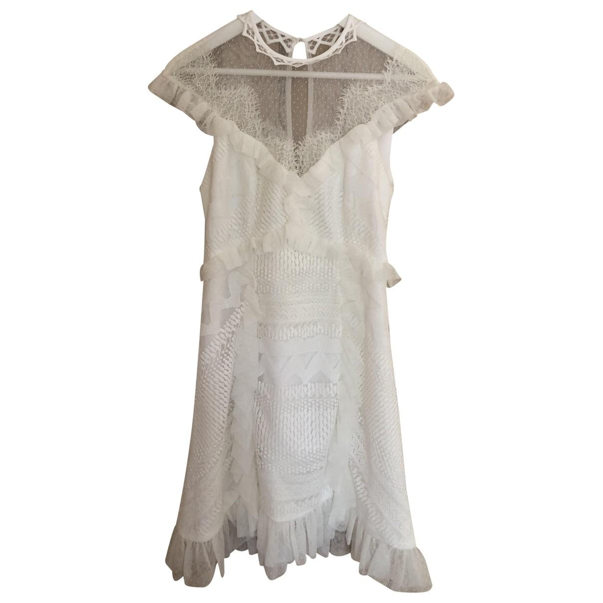 Three Floor Fashion \N White Cotton dress for Women 8 UK