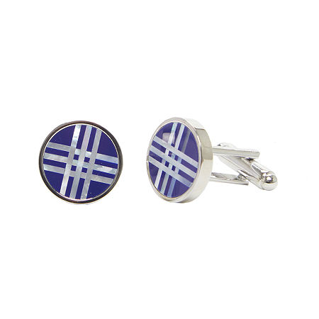Collection by Michael Strahan Cufflinks, One Size , Blue