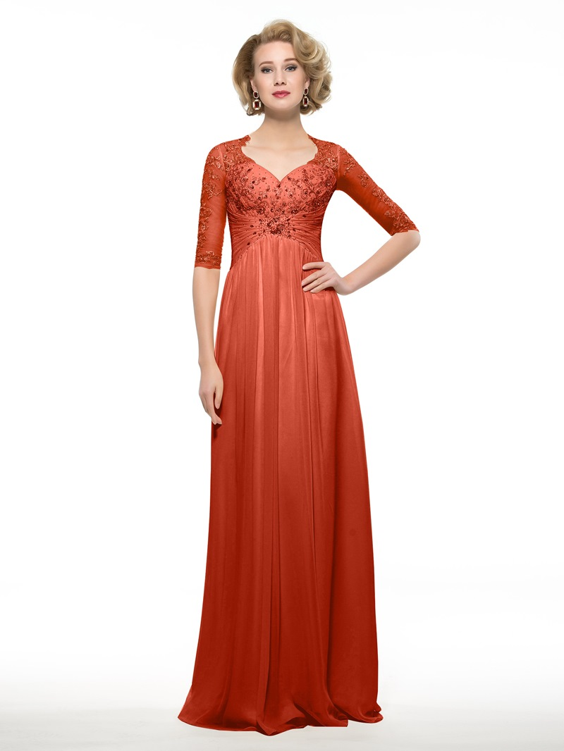Ericdress Sweetheart Half Sleeves A Line Mother Of The Bride Dress