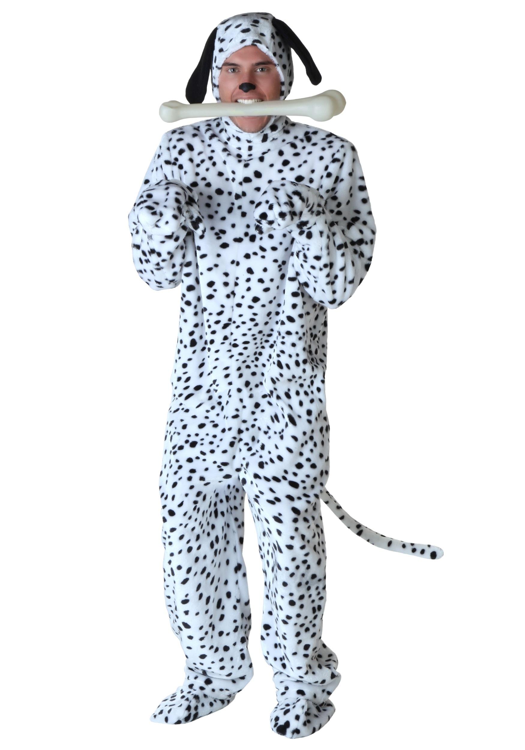 Dalmatian Plus Size Costume for Men