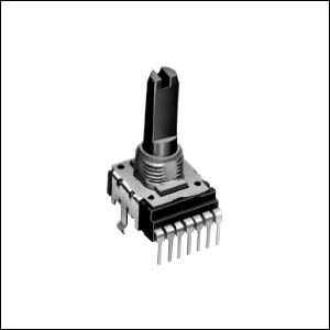 Alps Alpine 2 Gang Rotary Potentiometer with an 6 mm Dia. Shaft, ±20%, 0.05W Power Rating, Logarithmic, Through Hole (5)